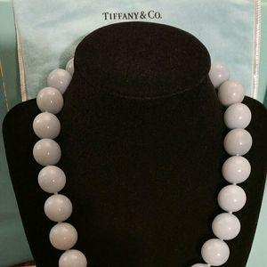 Tiffany & Co. Amazonite Large Bead Necklace